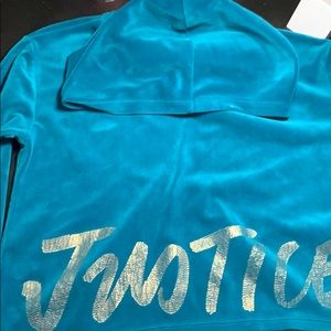 Super soft Justice girl's hoodie, Sz 12